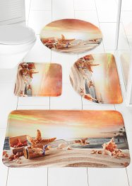 "Tappetino per bagno ""Beach"" in memory foam, bpc living"