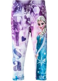 "Leggings ""FROZEN"", Disney, Violetto con stampa "" FROZEN"""