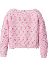 Pullover fantasia corto, bpc bonprix collection