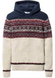 Pullover con cappuccio, bpc bonprix collection