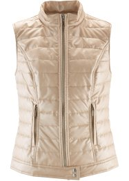 Gilet in similpelle lucida, bpc selection
