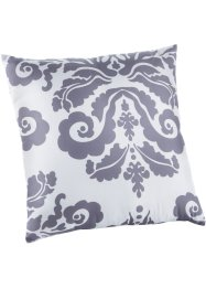 "Cuscino in microfibra ""Arabesque"", bpc living, Bianco"