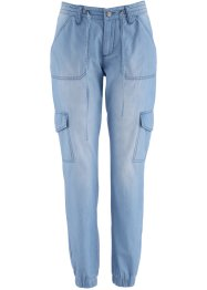 Jeans elasticizzato largo, bpc bonprix collection