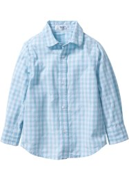 "Camicia ""Oktoberfest"", bpc bonprix collection, Bluette / bianco a quadri stampato"