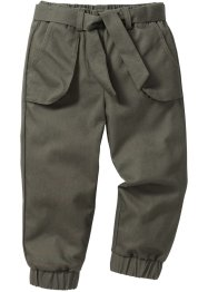 Pantalone sportivo, bpc bonprix collection, Verde oliva scuro