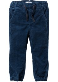 Pantalone sportivo in velluto, bpc bonprix collection, Blu scuro