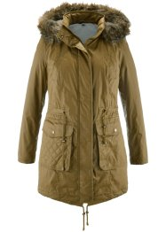 Parka rivestito 2 in 1, bpc bonprix collection, Vischio