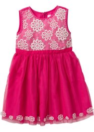 Abito con tulle, bpc bonprix collection, Fucsia
