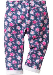 Pantalone in felpa, bpc bonprix collection, Indaco fantasia