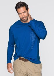 Maglia a manica lunga regular fit, bpc bonprix collection, Bluette