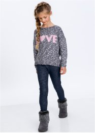 Pullover melange, bpc bonprix collection