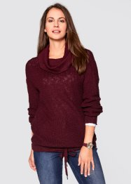Pullover con coulisse, bpc bonprix collection