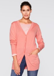 Cardigan, bpc bonprix collection, Rosa salmone