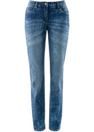 Jeans elasticizzato modellante in look usato, bpc bonprix collection