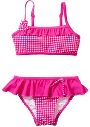 Bikini, bpc bonprix collection, Fucsia a quadri