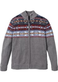 Cardigan in stile norvegese regular fit, bpc bonprix collection