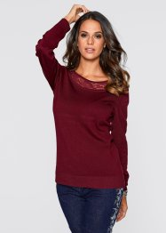 Pullover, bpc selection, Rosso acero