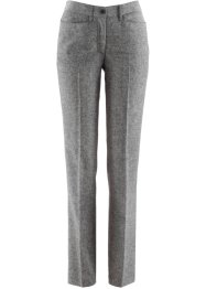 Pantalone in tweed, bpc selection, Nero melange