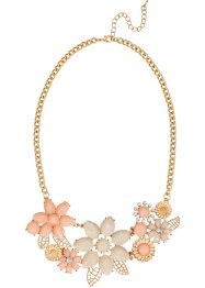 "Collier ""Fiori"", bpc bonprix collection, Color oro / color oro rosa"