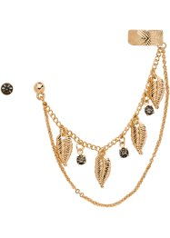 Orecchini (set 2 pezzi), bpc bonprix collection, Color oro