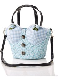 "Borsa ""Dirndl"", bpc bonprix collection, Azzurro"