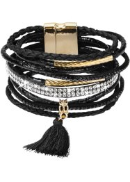 Bracciale largo con nappina, bpc bonprix collection