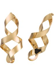 Orecchini a spirale, bpc bonprix collection, Color oro