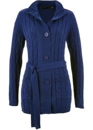 Cardigan lungo, bpc selection, Blu notte