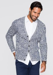 Cardigan regular fit, bpc bonprix collection, Blu notte fantasia