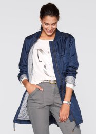Parka Maite Kelly, bpc bonprix collection, Blu scuro / grigio