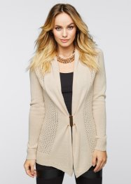 Cardigan, BODYFLIRT boutique, Beige