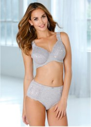 Reggiseno minimizer, bpc bonprix collection, Grigio melange