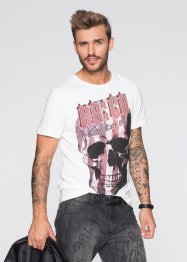 T-shirt slim fit, RAINBOW, Bianco