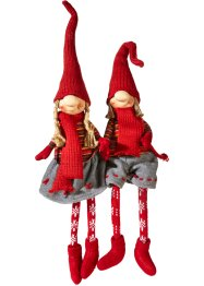 "Figure decorative ""Rudi & Merle"" (set 2 pezzi), bpc living bonprix collection"
