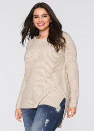 Pullover con spacchi, RAINBOW