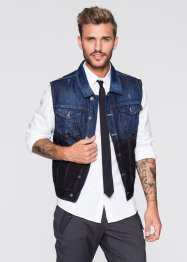 Gilet di jeans slim fit, RAINBOW