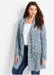 Cardigan lungo, bpc bonprix collection, Antracite melange