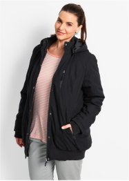 Parka, bpc bonprix collection, Nero