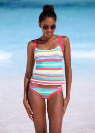 Tankini, bpc bonprix collection, Turchese a righe