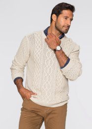 Pullover regular fit, bpc selection, Ecru