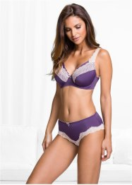 Reggiseno, bpc selection, Melanzana / color nudo