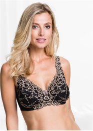 Reggiseno minimizer, bpc selection, Nero / marroncino
