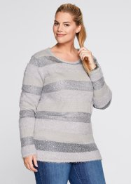 Pullover con paillettes, bpc bonprix collection