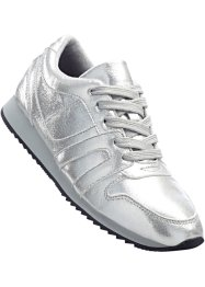 Sneaker, bpc bonprix collection, Glitterata argento