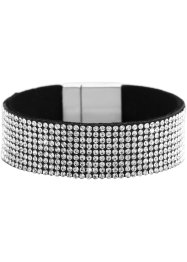 Bracciale largo con strass, bpc bonprix collection