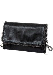Pochette con catenelle, bpc bonprix collection, Nero