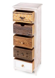 Cassettiera con 5 cassetti, bpc living bonprix collection