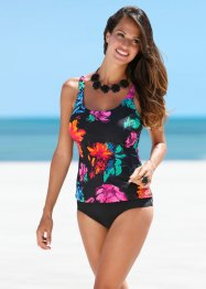 Tankini, bpc selection, Nero fantasia