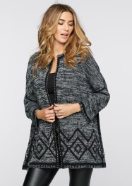 Cardigan, BODYFLIRT boutique, Nero melange