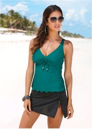Top per tankini, bpc selection, Verde smeraldo